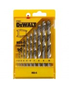 Drill bits, chisels, routers